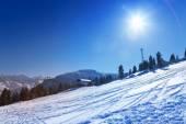 Ski resort view in Bansko — Stock Photo