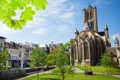 St Nicholas' Church in Ghent — Stock Photo