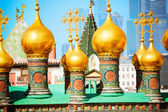 Domes of Upper savior Cathedral — Stock Photo