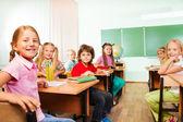 Споры стола с детьми — Стоковое фото
