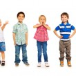 Combination of boys and girls — Stock Photo #65881683