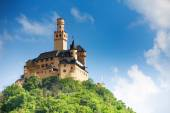 View of Marksburg castle — Stock Photo