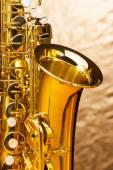 Alto saxophone with keys — Stock Photo