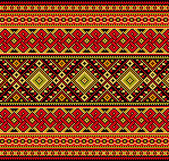 Ucraino decorativo — Vettoriale Stock