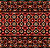 Ukrainian decorative — Stock Vector