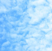Cloudy background, faded clouds — Stock Photo