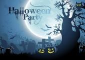 Halloween background — ストックベクタ