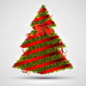 Christmas tree design — Stock Vector