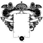 Ornate frame — Stock Vector #68566749