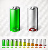 Battery charge — Stock Vector