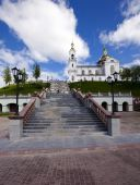 Belarus church — Stock Photo