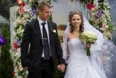 Jeunes mariés — Photo
