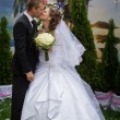 Young groom and bride — Stock Photo #54163099