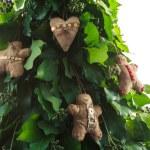 Gingerbread man handmade toy — Stock Photo #57053613