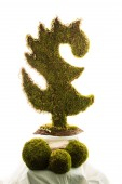 Dragon New Year tree — Stock Photo