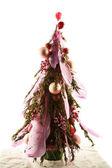 Handmade New Year tree — Stockfoto