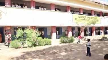 Indian children in school — Stock Video