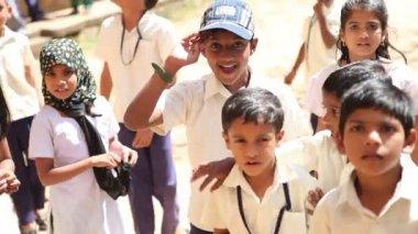 Happy Indian kids — Stock Video