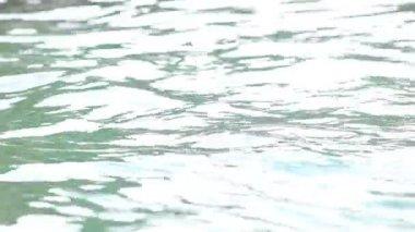 поверхности морской воды — Стоковое видео