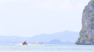 Tropical vacation on boat — Video Stock