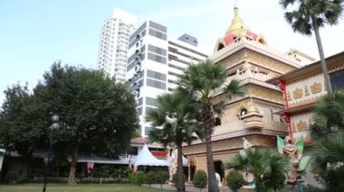 Buddha temple in Penang — Stock Video