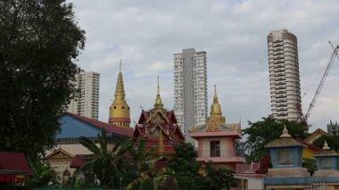 Buddha temple in Penang — Wideo stockowe