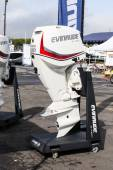 Evinrude engine — Stock Photo