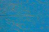 Turquoise blue cracked paint — Stock Photo