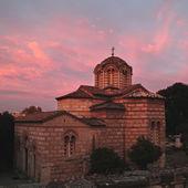 Old greek church, Athens, Greece. — 图库照片