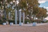 National War Memorial in Algeria, Morocco and Tunisia on the Qua — Stock Photo