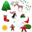 Christmas set — Stock Vector #58727273