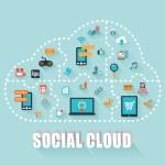 Social Cloud — Stock Photo #59203129