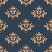 Floral retro seamless pattern — Stock Vector