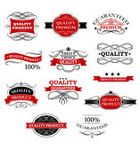 High quality product banners and labels — Stock Vector