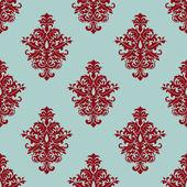 Retro maroon or crimson seamless pattern — Stock Vector