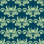 Perzisch-paisley naadloze bloemmotief — Stockvector