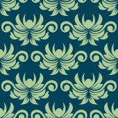 Persian paisley seamless floral pattern — Stock Vector