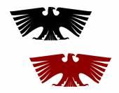Imperial heraldic eagle — Stock Vector
