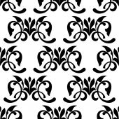 Floral vintage seamless pattern — Stock Vector