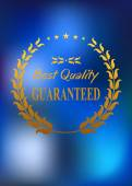 Best quality product label or emblem  — Vector de stock