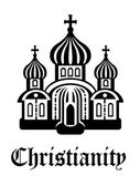 Christianity temple or church — Stock Vector