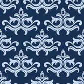 Retro light blue seamless pattern — Stock Vector