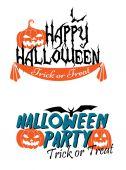 Gráficos com tema de halloween feliz — Vetor de Stock