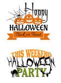 Halloween paty designs — Stock Vector