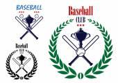 Baseball sport club emblem — 图库矢量图片