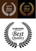Best quality guaranteed label or emblem  — Stock Vector