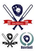 Baseball banners set — Stock Vector