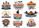 Halloween vector designs — Stock Vector