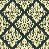 Geometric bold arabesque pattern — Stock Vector