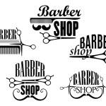 Barber Shop badges or signs set — Stock Vector #57076163